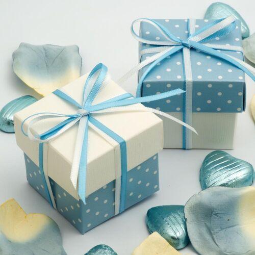 Rose et Violet Mariage Favoriser Boîtes avec couvercles Craft Cadeau Baby Shower