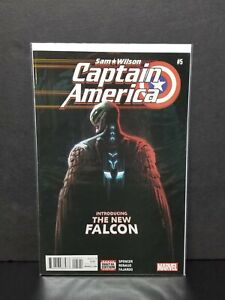 Marvel Sam Wilson Captain America #5 First 1st Joaquin Torres Cover Falcon Lower