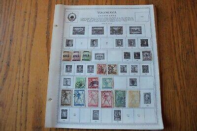 B01 Lot Of Lebanon Liban and Liberia Stamps On 10 Minkus Binder Pages