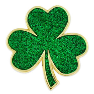 pinmart 39 s green shamrock st patrick 39 s day clover magnetic lapel pin jewelry 689539140083 ebay. Black Bedroom Furniture Sets. Home Design Ideas