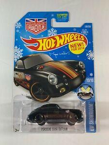 Hot-Wheels-Target-Snowflake-Card-Porsche-356A-Outlaw-2015-2016-BOXED