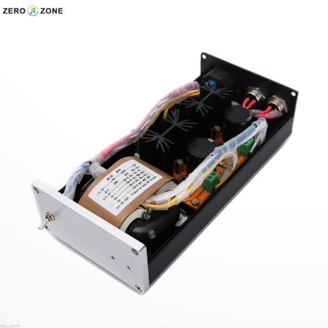 2 Way HIFI Linear Power Supply USB / Amp / DAC external LPS 12V +12V @1A  J168-4