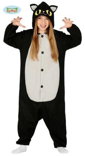 Chat Overall pyjama Chaton Enfants Costume gueule de bois