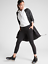 ATHLETA 487440 BLACK LIGHTNING 7//8 TIGHT IN SUPERSONIC PANT $98.00 NEW XS S
