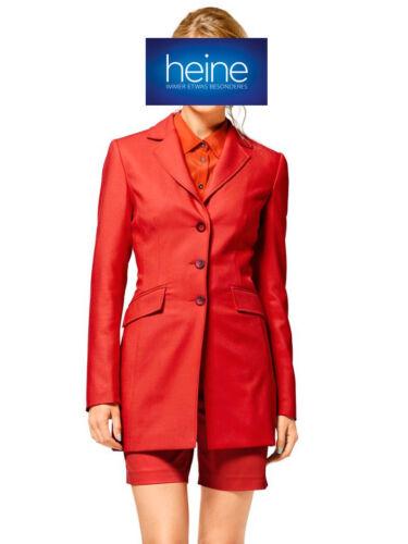 KP 149,00 € SALE /%/%/% Orange Heine NEU!! Kombination-Blazer+Shorts