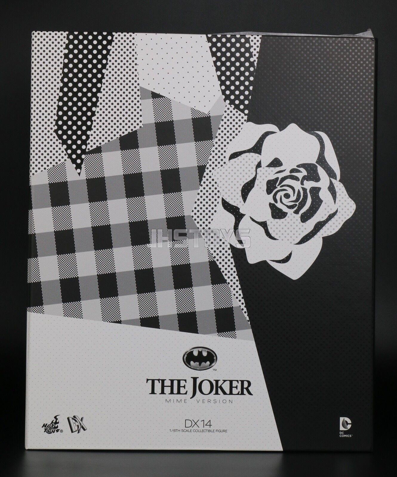 Nuevo Hot Juguetes 1 6 Batman 1989 el Guasón MIME versión Jack Nicholson DX14 Japón