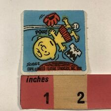 Vintage 1966 PEANUTS I LOVE YOU-PATTY COMIC Patch Charles Schulz