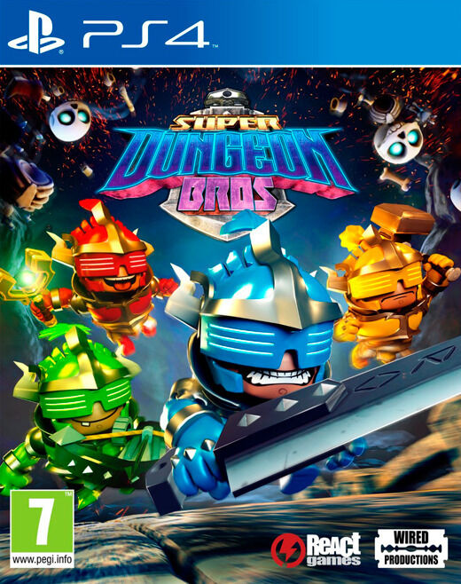 PS4 / Xbox One - Super Dungeon Bros (brand new)