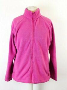 Joules-Ladies-Pink-Fleece-Jumper-Cardigan-Jacket-Size-UK-12