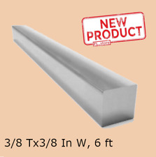Square Stock 38 X 38 X 72 Solid Square 6 Ft Long Bar 304 Stainless Steel New