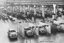 Volkswagen Beetle –  VW Bug – VW Käfer – 1955 shipping in VW factory – photo