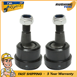 Set Of 2 Front Upper Press-in Type Ball Joint For Dodge Ram 2500 3500 03-10 4WD