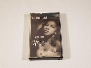 Unforgettable With Love Natalie Cole Cassette 1991, Elektra