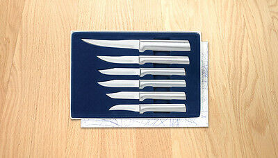 Rada S52_NB Paring Knife Set (6pc) Cutlery NO BOX deal S/S knives L/R handed USA
