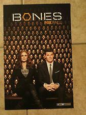 BONES TV Series Poster Comic Con 2013 Exclusive Brand NEW Boreanaz Deschanel FOX