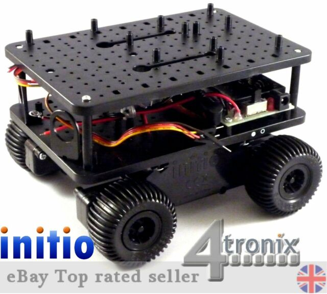 4tronix initio 4WD Robot Car Platform for Arduino & Raspberry Pi