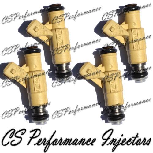4 0280155705 Rebuilt by Master ASE Mechanic USA OEM Bosch Fuel Injectors Set