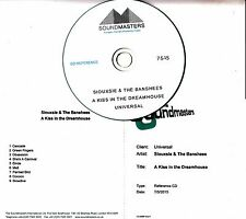 SIOUXSIE & THE BANSHEES A Kiss In The Dreamhouse 9-track studio reference CD-R