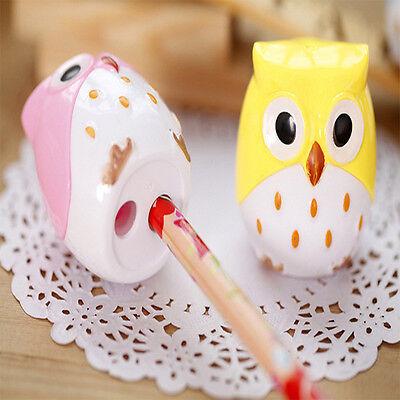 Creative Stationery Kawaii Cute Owl Pencil Sharpener For School Kid's Favorite