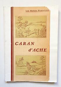 Details About Caran D Ache Dessins 1907 Librairie Juven Livre Humour Dessins