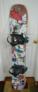 BURTON-SEVEN-154-5-SNOWBOARD-SIZE-154-CM-WITH-BEYOND-SNOW-LARGE-BINDING