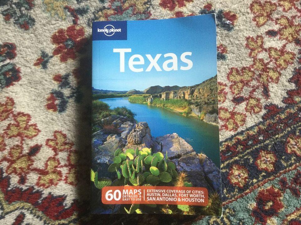 Texas, Lonely planet, emne: rejsebøger