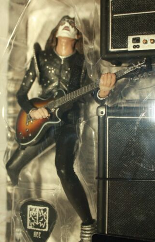 """Ace Frehely KISS Space Ace 6/"""" Inch Action Figure Toy New McFarlane Kiss Alive"""