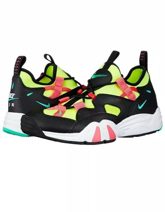 Men Nike Air Scream LWP Training Lifestyle shoes Black Volt Racer Pink AH8517-001