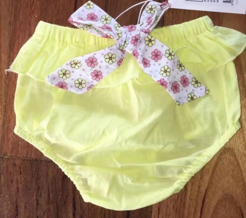 NEW SEED HERITAGE Baby Girl Bloomers Size 00 3-6 Mth Infant Nappy Cover RR$24.95