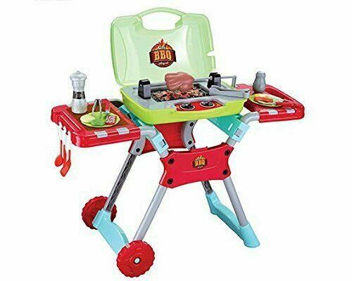 World Tech Toys Kids Portable Bbq 20 Pcs Playset Multicolored For Sale Online Ebay