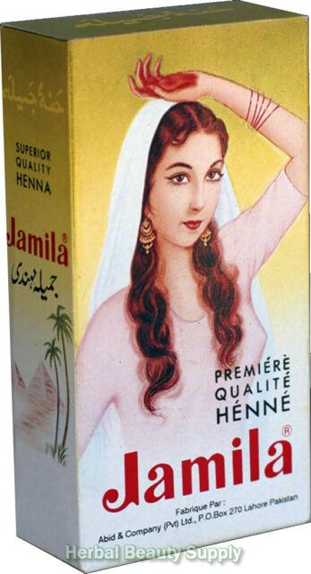 BUY 5 GET 1 FREE - 100g Jamila Pure Henna Mehendi Powder Hair Color