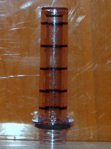 Scully oil tank gauge crystal glass //oil level sight glass 10 SCULLY CRYSTAL