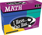 I Have... Who Has...? Math Interactive Game Cards, Grades 3-4 by Teacher Created Materials (Undefined, 2010)