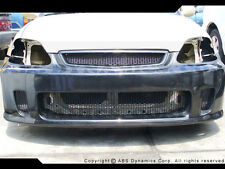 1999 -00 Honda Civic Airwalker N1 BYS FrontT Bumper FRP w/ CARBON FIBER LIP