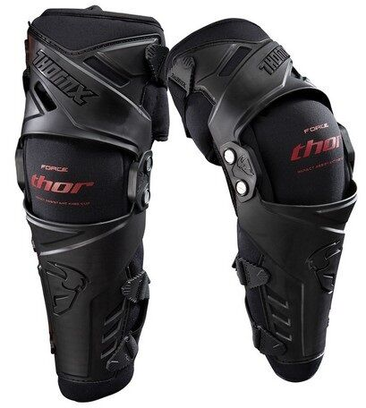 Thor Force Knee Guards Braces New Small/Medium NEW