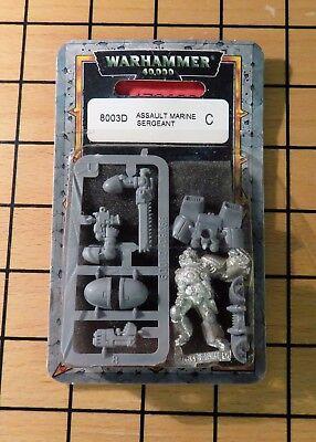 Warhammer 40k space marine terminator assault cannon-blister-metal