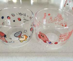 KIRBY-of-the-stars-Glass-bowl-set-25th-Anniversary-Lowson-Limited-Japan