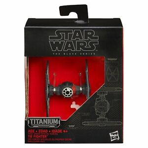NEW-STAR-WARS-TITANIUM-SERIES-FIRST-ORDER-SPECIAL-FORCES-TIE-FIGHTER-B3933