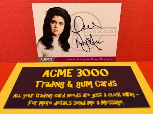 Unstoppable UFO Series 2 AYSHEA BROUGH SHADO Operative Autograph Card AB2