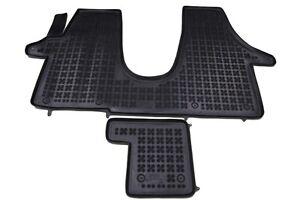 gummi fu matten gummimatten vw transporter multivan t5 ab. Black Bedroom Furniture Sets. Home Design Ideas