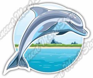 Dolphin Fish Sea Ocean Animal Marine Car Bumper Window