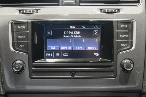 VW Golf VII 1,6 TDi 110 BlueMotion Variant - billede 4