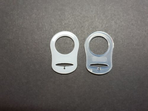2 X Dummy Ring Holder Clip for MAM Soother Pacifier Two Pack
