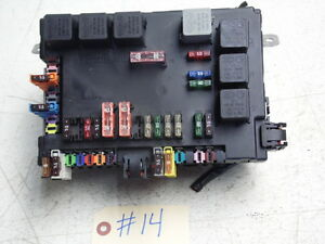 MERCEDES CL600 W216 07-08 TRUNK REAR ELECTRICAL RELAY FUSE BOX ...