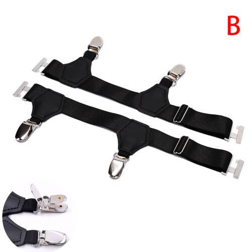 Men Socks Garters Elastic Sock Stays Belt Clip Adjustable Suspenders Accesso ESU