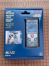 Bosch Glm 42 Blaze 135 Ft Laser Distance Measure With Color Display