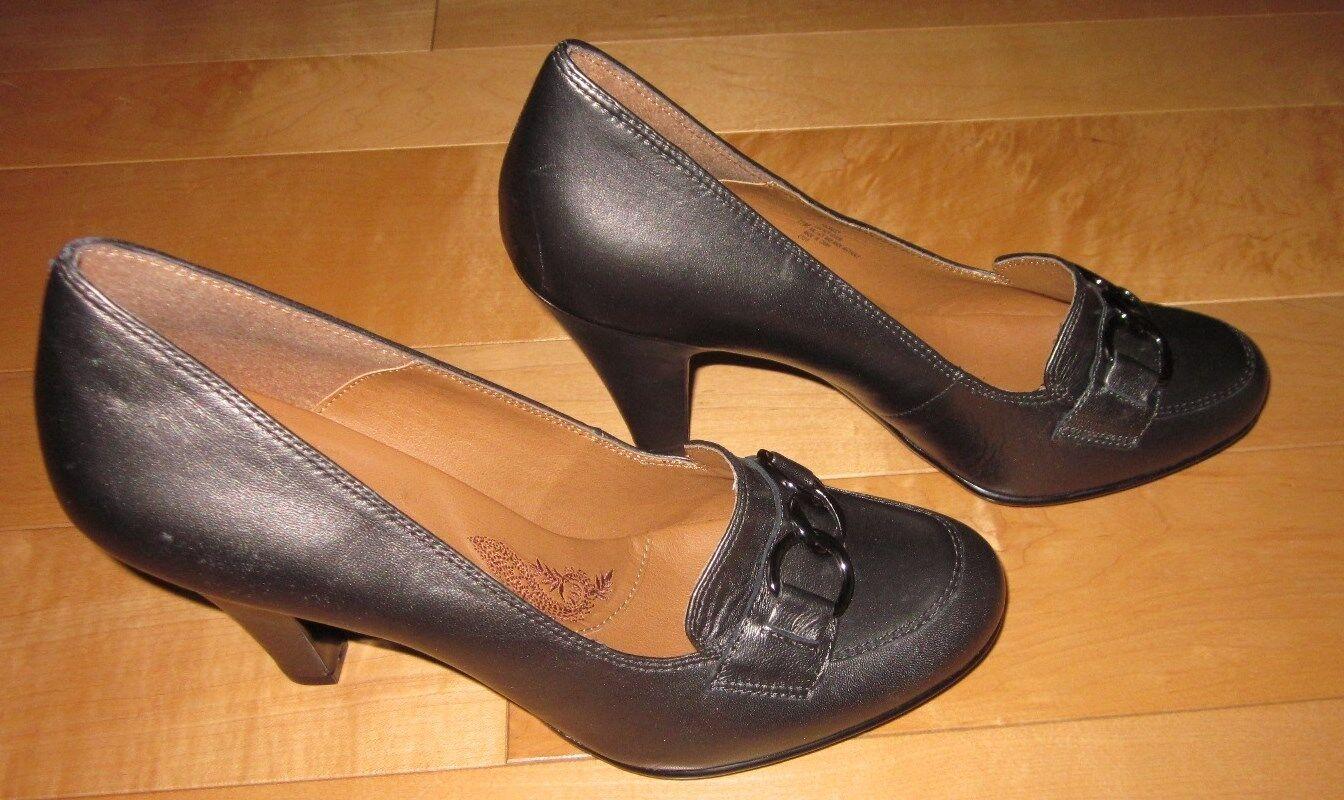 New Sofft damen Pewter Leather Heels Sharp 10 M Sharp Heels Must C 683fbf