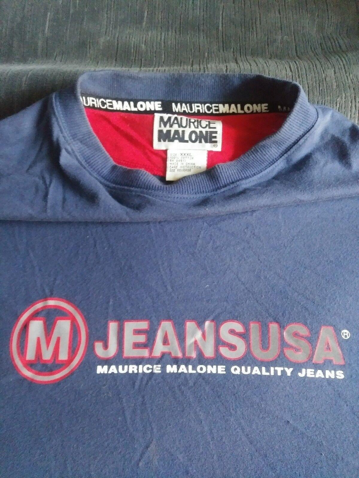 Vintage 90's Maurice M. Malone Hip Hop Shop T Shirt XXXL