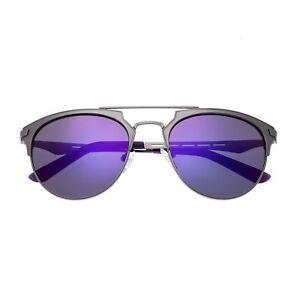 f6e58c22af47 Image is loading Breed-Hercules-Silver-Titanium-Polarized-Purple-Lens-Men-