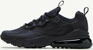 Nike-Air-Max-270-React-Triple-Black-BQ0103-004-Running-Shoes-7-Y-8-5-Women-039-s